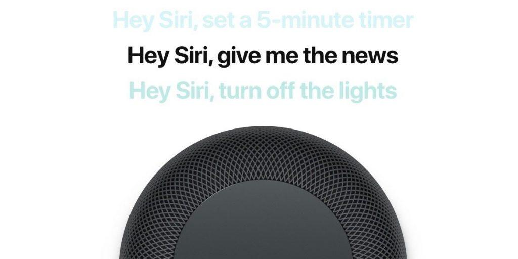 Podcast de Siri con una bocina