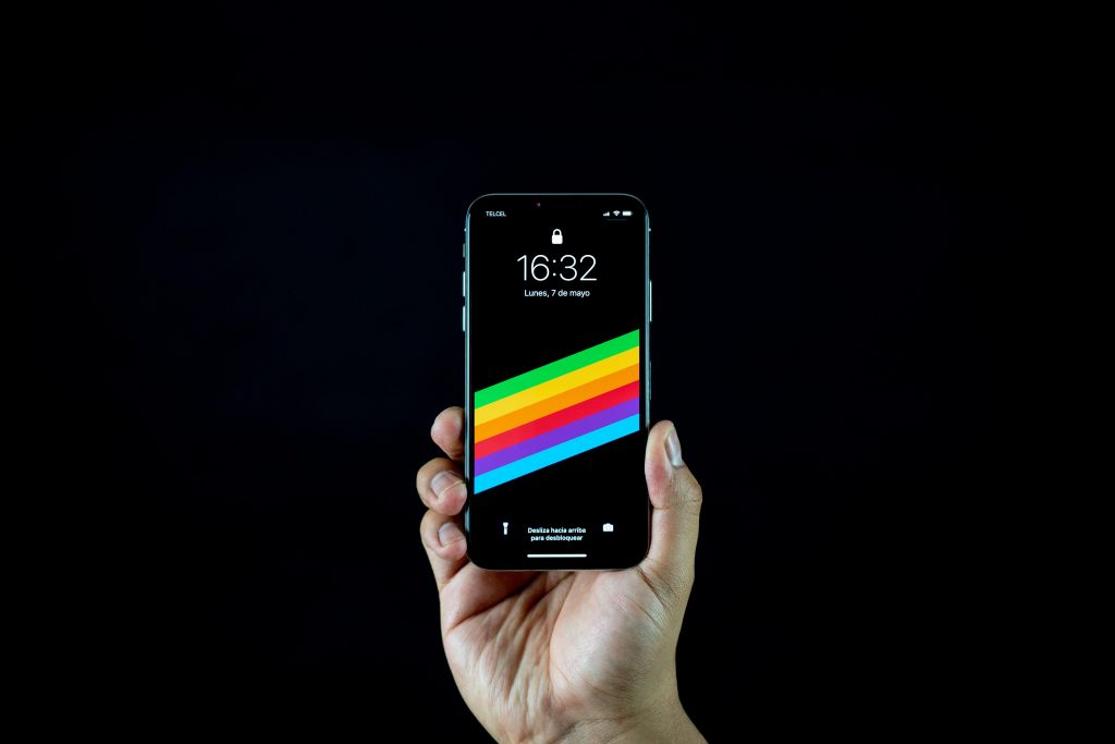 iPhone Xs mostrado en el evento Apple de septiembre