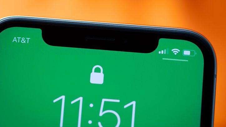 Celular de Apple con la nueva nomenclatura para los celulares