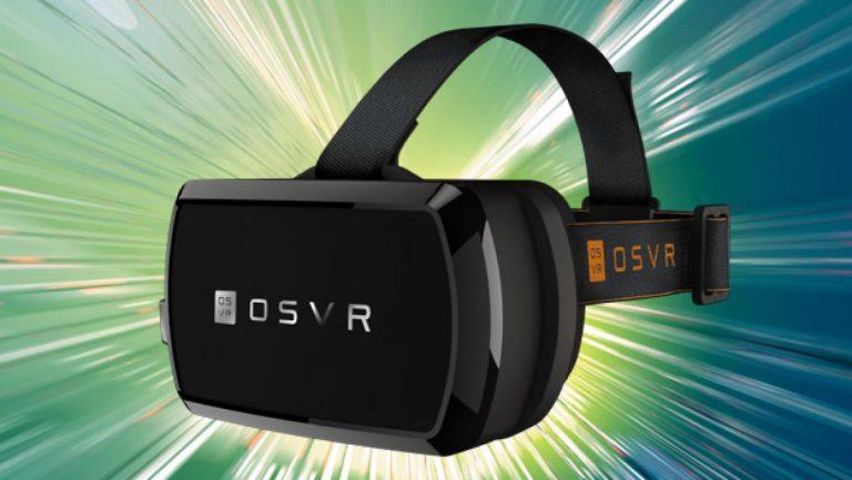 Muestran OSVR los lentes de la realidad virtual