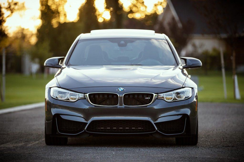 Automóvil BMW protegido