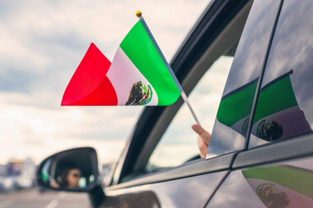 Viajas a México en auto